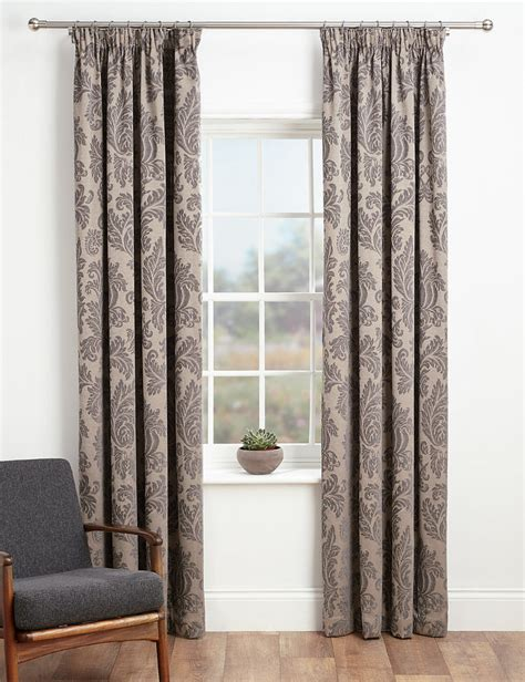 marks curtains marks and spencer elegant damask curtains shopstyle co