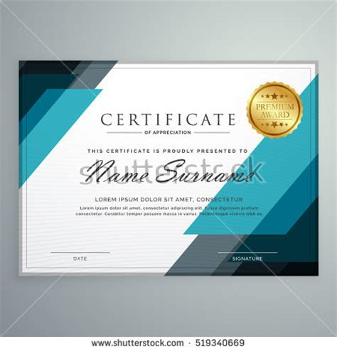 design certificate of appreciation certificate of appreciation stock images royalty free