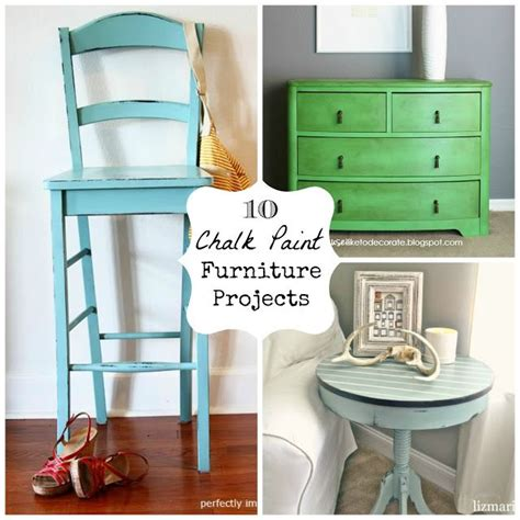 Chalk Paint Furniture Diy by 10 Chalk Paint Furniture Project Ideas Diy