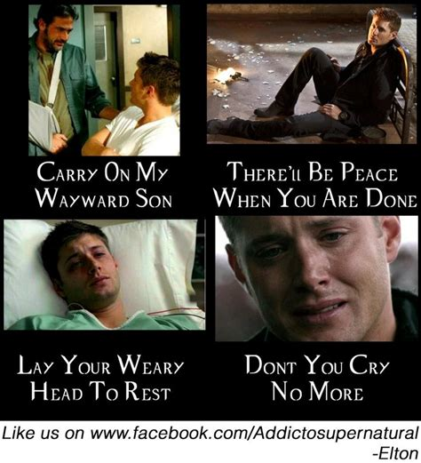 Carry On Meme - carry on sam dean cas it s supernatural pinterest
