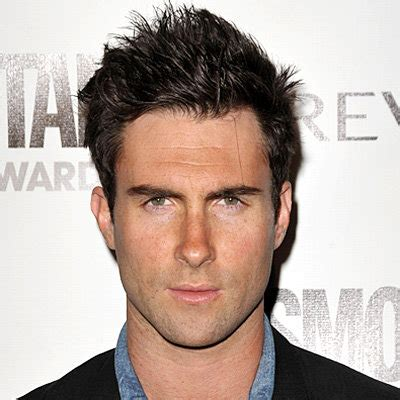 before and after haircut vine adam levine s changing looks instyle com