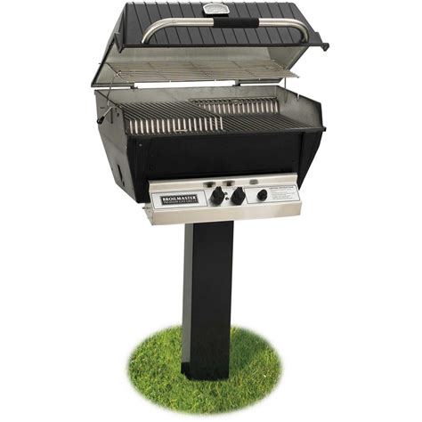 Patio Master Grill by Broilmaster H3pk3n Dexluxe Grill Package W Patio Post