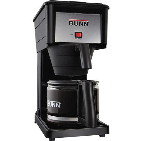 BUNN Velocity Brew Coffee Maker GRX B 10 Cup Home Brewer, Black Machine   eBay