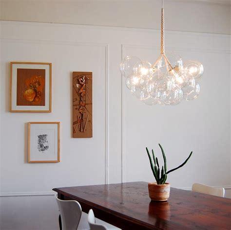 glass bubbles chandelier design ideas charming lightness of a glass bubble chandelier light