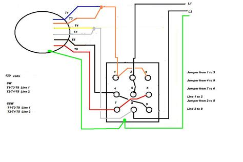 single phase motor connections diagrams motor wiring diagram single phase agnitum me