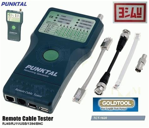 Goldtool Tct 1620 Remote Cable Tester Rj45rj11usb1394bnc jual goldtool punktal tct 1620 remote cable tester rj45 rj11 usb 1394 bnc everything4u