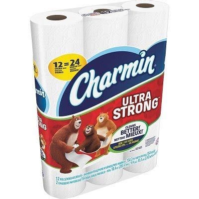 toilet paper charmin ultra strong  ply  sheet pack walmart canada