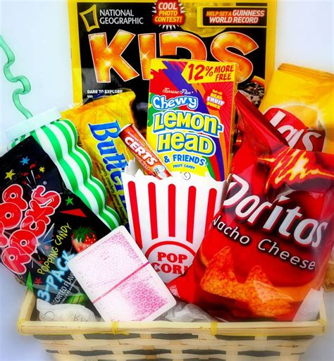 fun get well gift basket for kids get well gifts for