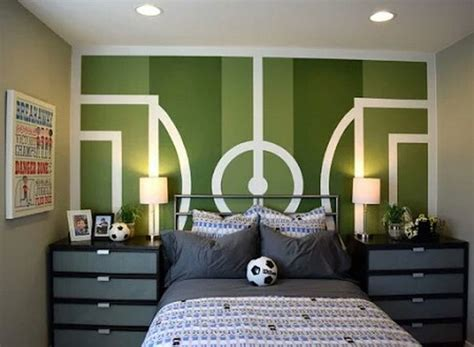 Soccer Room Decor The Best Soccer Themed Bedrooms Ideas Socc On Moroccan Style Bedroom Contemporary Ideas Inspired