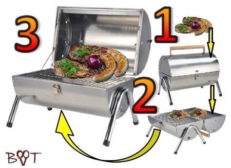 alles für garten cing edelstahl grill holzkohle tischgrill
