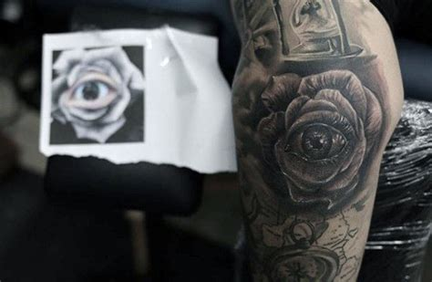 eyeball tattoo on elbow top 100 best elbow tattoos for men masculine design ideas