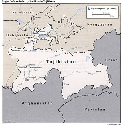 tajikistan map tajikistan maps perry casta 241 eda map collection ut library