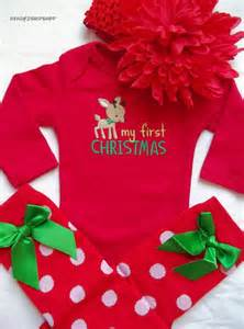 Dress up baby girl dresses babygirl outfit baby my first christmas