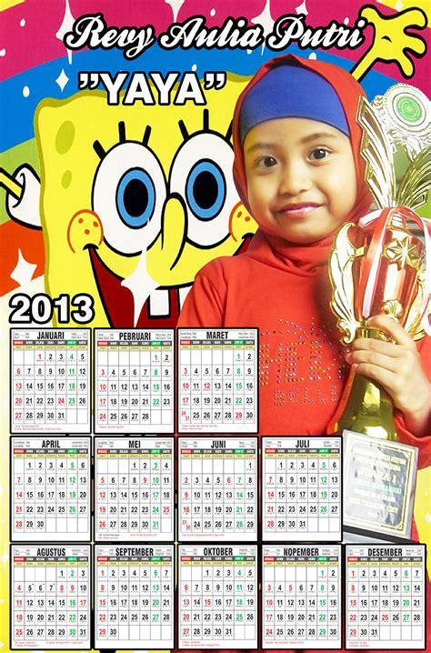 design untuk kalender westauwaras