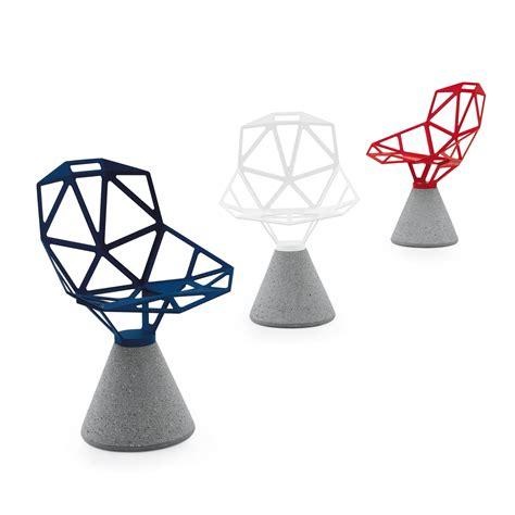 sockel zement chair one mit zement sockel magis shop