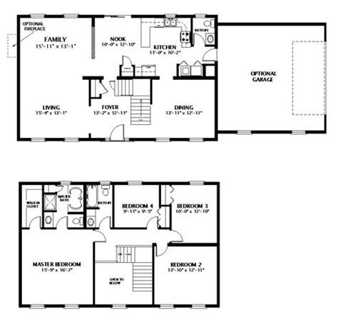 2 Story Home Floor Plans Pin By Plemmons On Home
