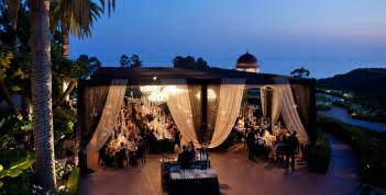 wedding venues southern california outdoor wedding venues in southern california pelican hill weddings