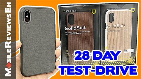 it s back rhinoshield solidsuit review iphone xs and iphone 8