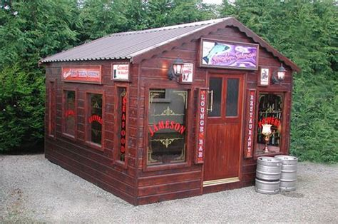 Shed Bar by Backyard Pub By Bwarbiany Playhouse For Adults For