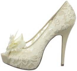 lace ivory shoes for wedding 2016