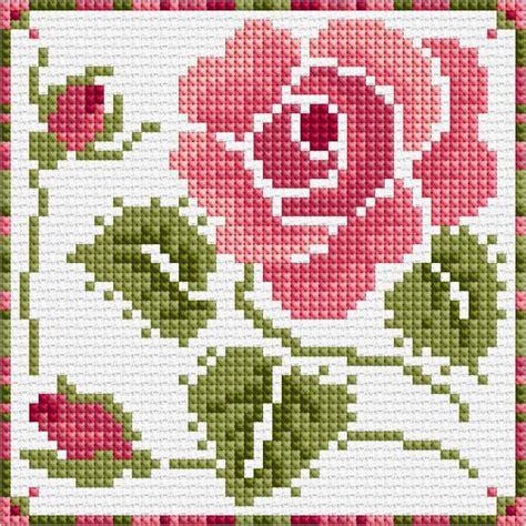 schemi ricamo fiori punto croce linguaggio di schema di fiori valore
