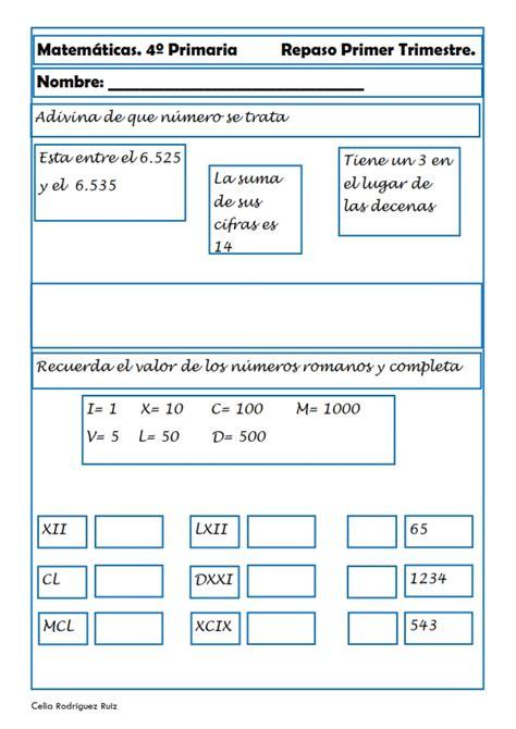 matemticas 3 primaria 8468012866 recursos para el aula matem 225 ticas para cuarto de primaria nuevas fichas de nuestra colecci 243 n