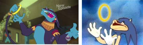 Sonic Rings Meme - 492629 ahuizotl comparison crossover daring don t