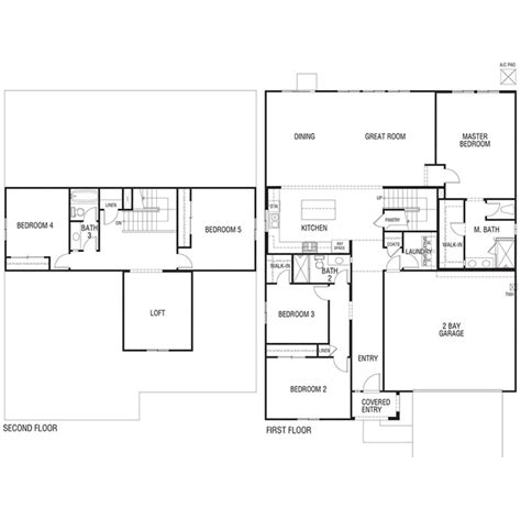 inland homes floor plans residence 2782 sage pointe jurupa valley california