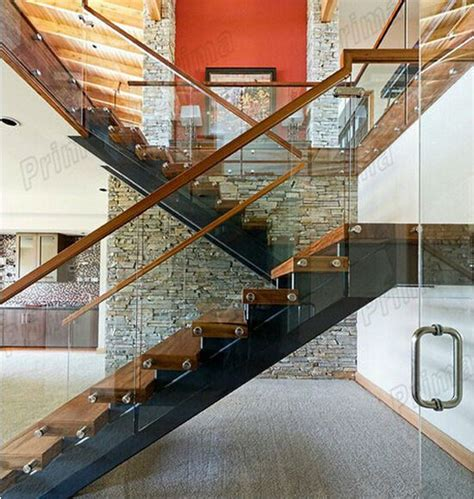 Wood And Glass Banister by 17 Best Images About Bras D Escalier On Wood