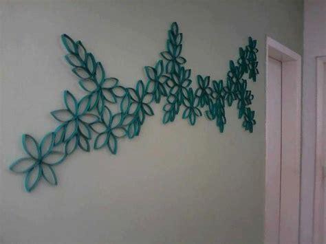 imagenes de flores con tubos de papel bao decoraciion hecha con tubos de carton del papel higienico