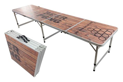 Folding Table With Handle Pong Aluminum Folding Table W Handle 8 Quot Bp 08 Easy Source Inc