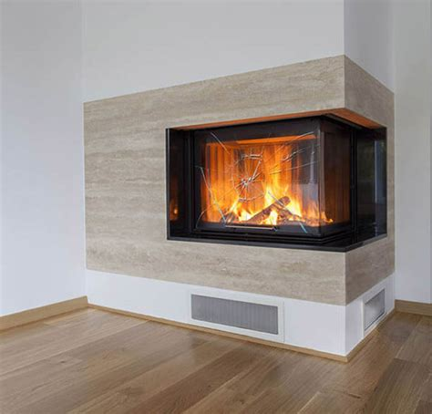 Broken Glass Fireplace by Fireplace Glass Cut To Your Specifications Order