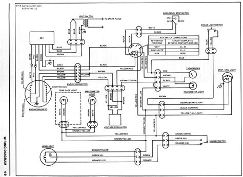 kawasaki mule ignition wiring diagram get free image