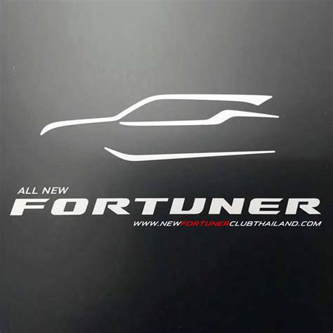 logo toyota fortuner new fortuner club thailand nfc all new toyota fortuner