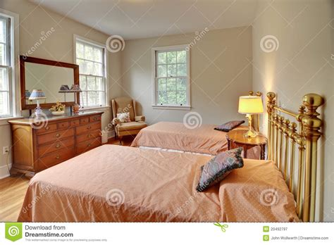 chambre photographie chambre 224 coucher traditionnelle photographie stock libre