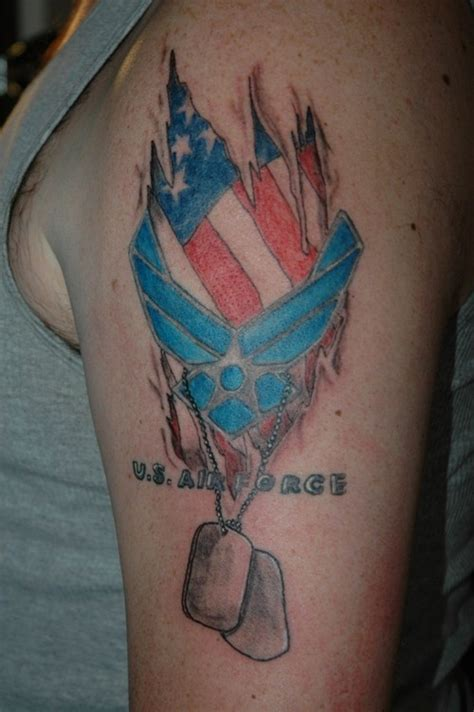 air force tattoos designs ideas and meaning tattoos for you