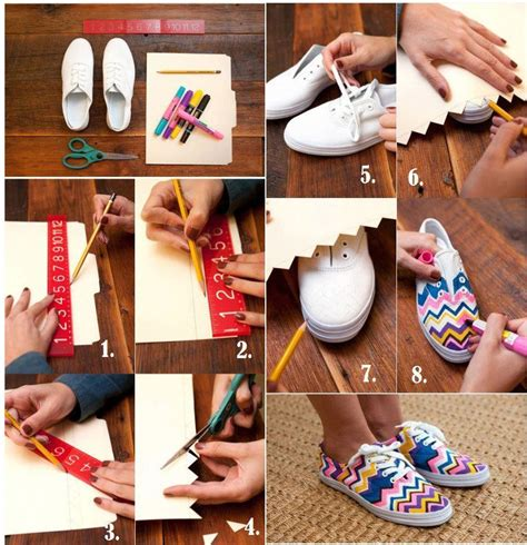 fashion crafts for diy fashion sneakers diy projects usefuldiy