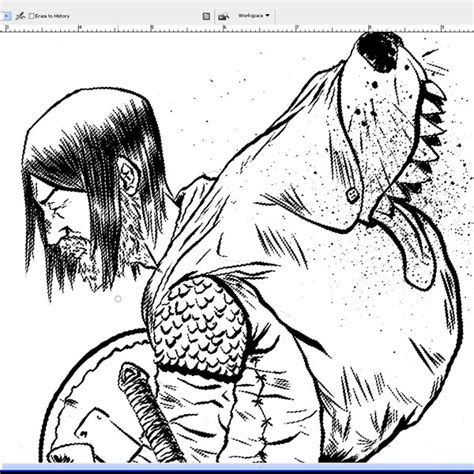 how to color lineart how to color inked line in photoshop