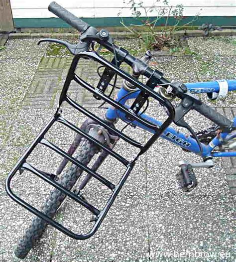 Suspension Mountain Bike Rack by David Hembrow Sturdy Made Load Carrying Front