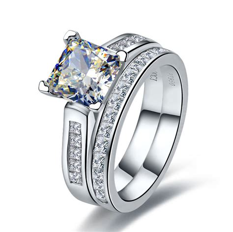 luxury quality 2 carat princess cut best quality nscd