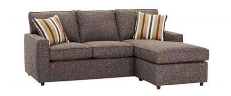 Apartment Size Sofa With Chaise Lounge apartment sized convertible sleep sofa with