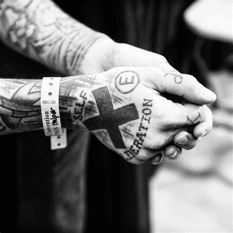 tattoo hand edge straight edge hand tattoos www pixshark com images