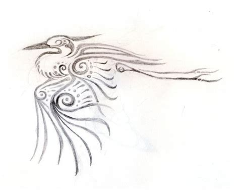 heron tattoo designs repost of heron by xenofelidae deviantart on