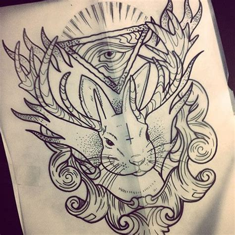 tattoo inspiration hipster 190 best jackalope inspirations images on pinterest