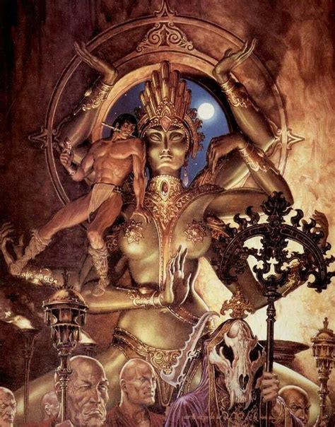 faces of death fact or fiction 1999 conan lecilaire steve hickman fantasy art pinterest fantasy art