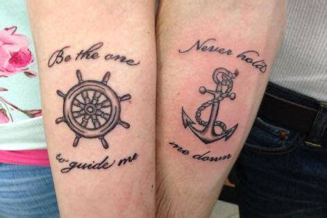 pinterest couples tattoos 24 best couples anchor tattoos images on