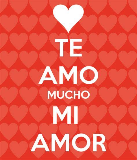 te amo mi amor te amo mucho mi amor poster daniel martinez keep calm