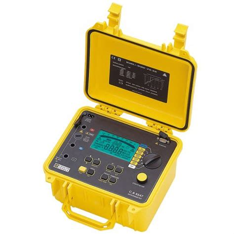 Jual Multimeter Chauvin Arnoux jual chauvin arnoux earth cl testers c a 6416 tridinamika