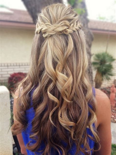 cute homecoming hairstyles long hair cute prom hairstyles for long hair 2015