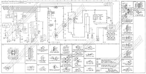 1973 1979 ford truck wiring diagrams schematics fordification autobonches